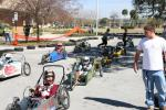The full field at USF ASME Electrathon